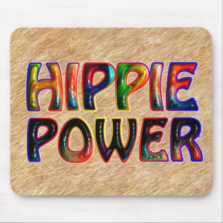 HIPPIE POWER MOUSE PAD