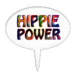 HIPPIE POWER OVAL CAKE PICK