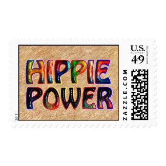 HIPPIE POWER STAMP