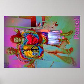 Hippie Prace Posters