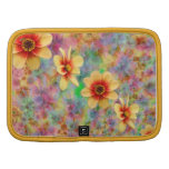 Hippie Psychedelic Flower Pattern Folio Planners