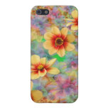 Hippie Psychedelic Flower Pattern iPhone 5 Covers