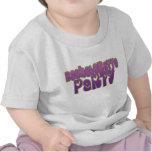hippie purple heart bachelorette party fun shirts