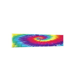 Hippie rainbow canvas print