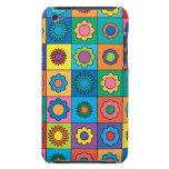 Hippie Rainbow Flower Pattern iPod Touch Case