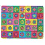 Hippie Rainbow Flower Pattern Journals