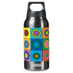 Hippie Rainbow Flower Pattern SIGG Thermo 0.3L Insulated Bottle