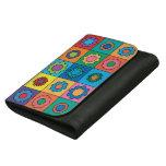 Hippie Rainbow Flower Pattern Wallets