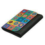 Hippie Rainbow Flower Pattern Women's Wallet