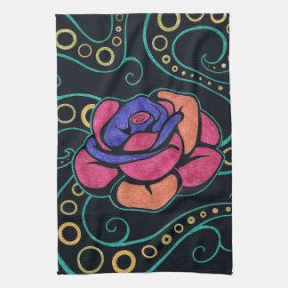 Hippie Rose Kitchen Towel