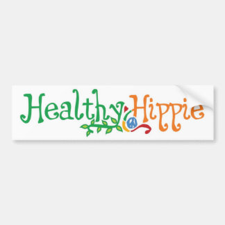 Hippie sano 311 etiqueta de parachoque