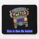 Hippie School Bus Mouse Pad