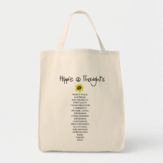 Hippie Thoughts bag Tote Bag