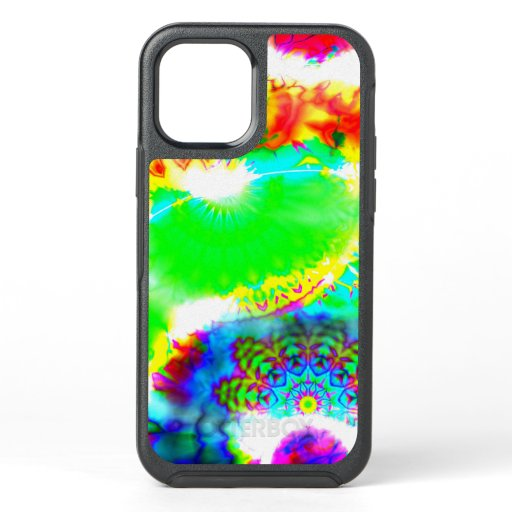 Hippie Tie Dye Mandala Otterbox iPhone 12 Case