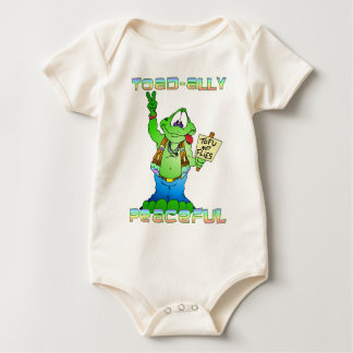 Hippie Toad Baby Bodysuit