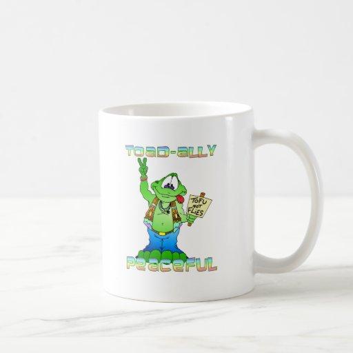 Hippie Toad Classic White Coffee Mug