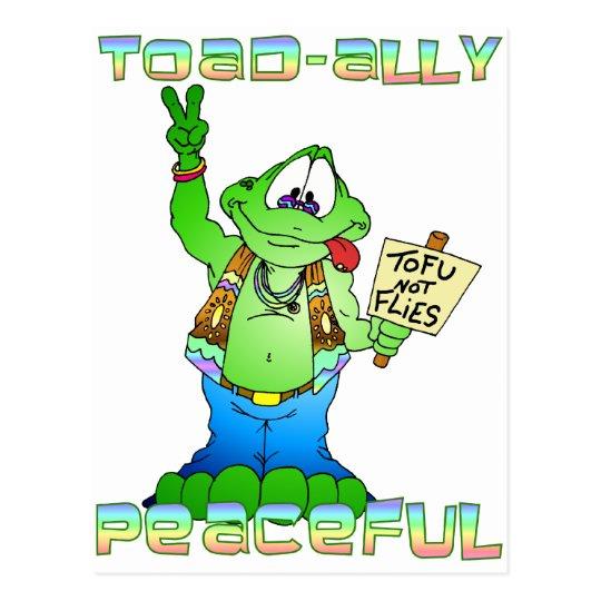 Hippie Toad Postcard
