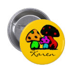 hippie trippie name pin