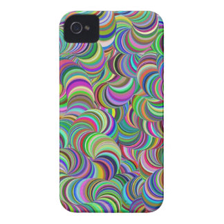 Hippie Trippy Case-Mate iPhone 4 Protectores