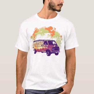 Hippie Van de Chevy de los años 70 Playera