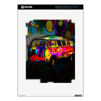 Hippie van decals for iPad 3