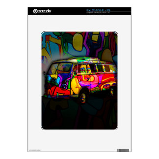 Hippie van skin for iPad