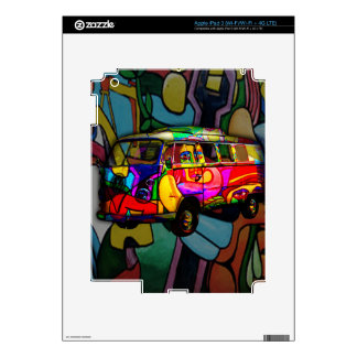 Hippie van skins for iPad 3