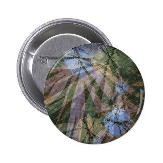 Hippie Vibes 2 Inch Round Button