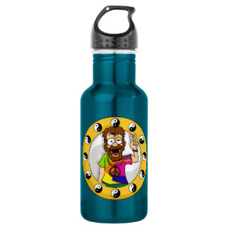 Hippie Water Bottle