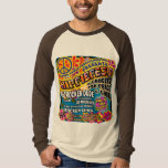 Hippiefest Concert Poster Shirts