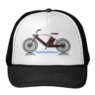 HippieRockRoots bicycle Trucker Hat
