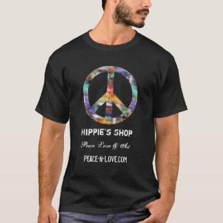 Hippie's Shop Promotional Value Peace Sign T-Shirt