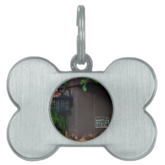 Hippies Use Side Door Pet Name Tags