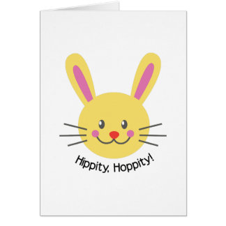 Hippity Hoppity Greeting Card
