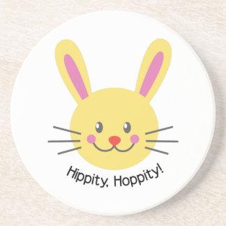 Hippity Hoppity Beverage Coasters