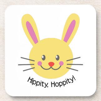 Hippity Hoppity Beverage Coaster