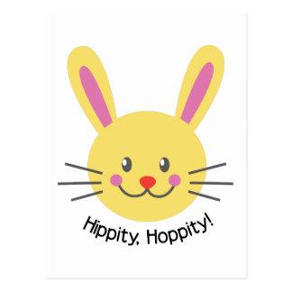 Hippity Hoppity Postcard