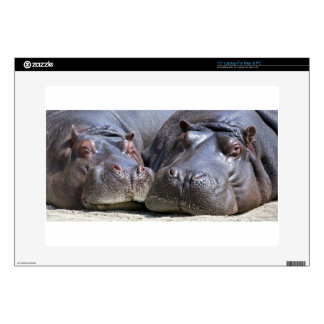 hippo-783 portátil 38,1cm skins