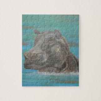 Hippo and Frog, Hippopotamus Jigsaw Puzzle