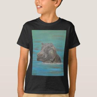 Hippo and Frog, Hippopotamus T-Shirt