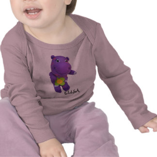 Hippo Baby Girl T-Shirt