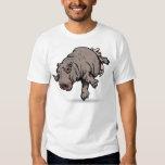 Hippo Ballerina T Shirt