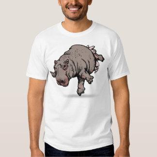 Hippo Ballerina Tee Shirt