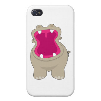 Hippo Big Mouth Cases For iPhone 4