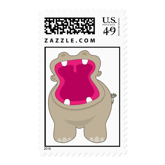 Hippo Big Mouth Postage