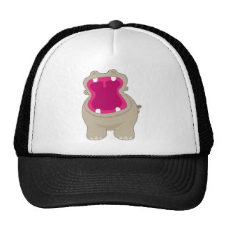 Hippo Big Mouth Trucker Hat