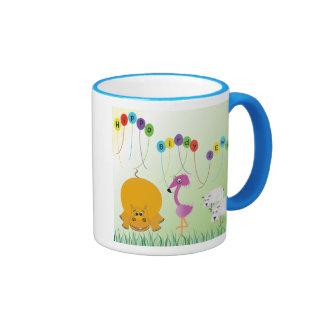 Hippo, Birdy 2 Ewe Birthday Mug