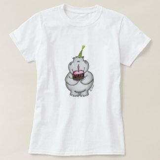 Hippo Birthday - Happy Birthday T-Shirt