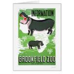 Hippo Brookfield Zoo 1938 WPA