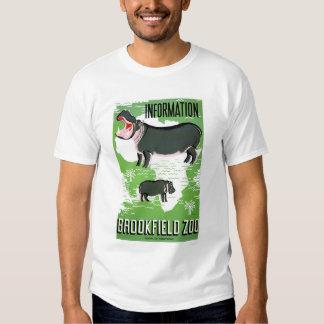 Hippo Brookfield Zoo 1938 WPA T Shirt